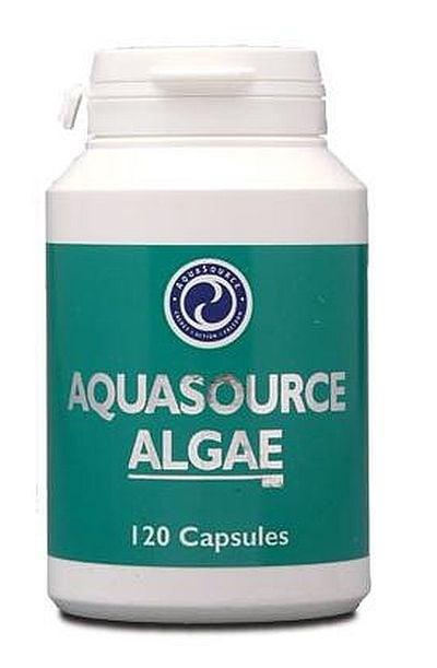 ВОДОРАСЛИ - естествен и пълноценен източник на хранителни вещества - капсули 300 мг. х 120, АКВАСОРС