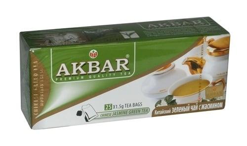 ЗЕЛЕН ЧАЙ С ЖАСМИН АКБАР - филтър х 25, AKBAR