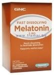 МЕЛАТОНИН сублингвална табл. 5 мг. * 60 GNC