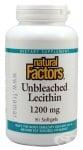 ЛЕЦИТИН капсули 1200 мг. * 90 НАТУРАЛ ФАКТОРС