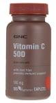 ВИТАМИН Ц табл. 500 мг. + ШИПКИ каплети * 100 GNC