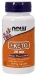 НАУ ФУДС 7 - КЕТО капс. 25 мг. * 90