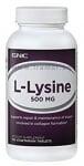 L - ЛИЗИН таблетки 500 мг. * 100 GNC