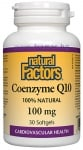 КОЕНЗИМ Q10 капсули 100 мг. * 30 НАТУРАЛ ФАКТОРС