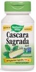 КАСКАРА САГРАДА / ЗЪРНАСТЕЦ капсули 350 мг * 100 NATURE'S WAY