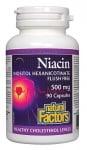 НИАЦИН ИНОЗИТОЛ ХЕКСАНИКОТИНАТ капсули 500 мг. * 90 НАТУРАЛ ФАКТОРС