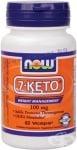 НАУ ФУДС 7 - КЕТО капсули 100 мг * 60