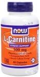 НАУ ФУДС L - КАРНИТИН капс. 500 мг. * 60