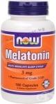НАУ ФУДС МЕЛАТОНИН капс. 3 мг. * 180