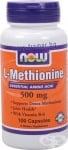 НАУ ФУДС МЕТИОНИН капс. 500 мг. * 100