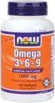 НАУ ФУДС ОМЕГА 3 - 6 - 9 дражета 1000 мг. * 100