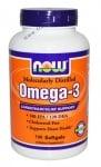НАУ ФУДС ОМЕГА - 3 дражета 1000 мг. * 100