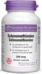 СЕЛЕНОМЕТИОНИН - благопроятства щитовидната жлеза 200 мкг. * 60 капсули
