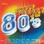 SIMPLY THE BEST OF THE 80'S - Музикална колекция с 64 музикални хита от 80-те *4 компакт диска, ТЕЛЕСТАР