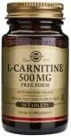 СОЛГАР L - КАРНИТИН таблетки 500 мг. * 30
