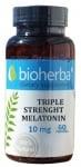 БИОХЕРБА МЕЛАТОНИН ТРОЙНА СИЛА капсули 10 мг. * 60