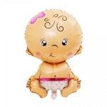 "Балон ""Бебе - Момиче"" /розов/"