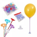 Пръчки за балони с вендузи /лепки/