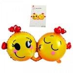 Балон Влюбени Емотикони /фолио/