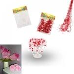 Гирлянд с едри перли за декорация - 5 броя