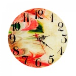 Стенен часовник /стъкло/