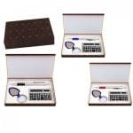 Комплект химикал, калкулатор и ключодържател