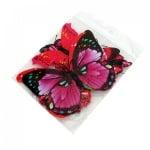 Пеперуди с магнит - 12 броя