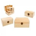 Кутии от дърво 3 в 1, COSMOPOLIS