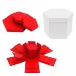"""Подаръчна кутия """"Албум - Изненада"""" 4 в 1"""