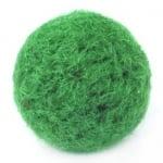 Топче филц 24 мм зелено