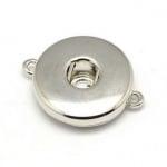 Свързващ елемент Тик-так копче 24х19х6мм цвят сребро