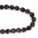 Наниз мъниста полускъпоценен камък АМЕТИСТ първо качество топче фасетирано 10 мм ~36 броя