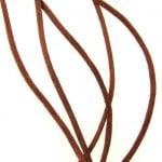 Шнур полиамид лъскав 1 мм кафяв -10 метра