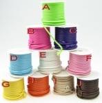 Шнур памук Корея 2 мм микс -5 метра