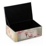 Кутия за бижута стъкло 14.5x10x7 см различни модели