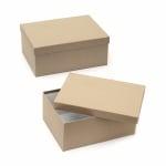 Кутия крафт картон 33x25x14 см