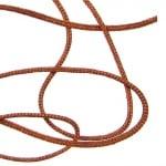 Шнур полиестер 0.8 мм кафяво пясъчно ±120 метра