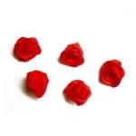 Роза 15 мм червена -50 броя