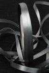 Ширит Сатен 6 мм сив -22 метра