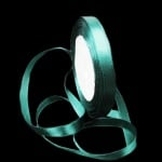 Ширит Сатен 10 мм зелен тъмно ±22 метра