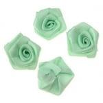 Роза 25 мм зелена светла -10 броя