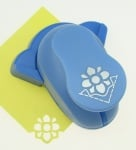 Перфоратор /пънч/ ъглов 25 мм за картон от 160 гр/м2 до 240 гр/м2 и EVA цвете