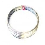 Тел за гривни 50 мм цвят сребро -50 навивки