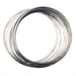 Тел за гердани 115x1 мм цвят сребро -50 навивки