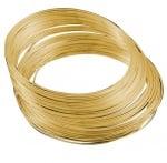 Тел за гердани 115x1 мм цвят злато -50 навивки