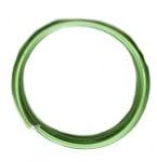 Тел алуминиева 1.5 мм цвят светло зелен -6 метра