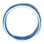 Тел алуминиева 2 мм цвят син ~6 метра