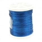 Тел медна 0.3 мм перлена синя ~50 метра