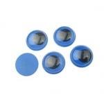 Очички мърдащи синя основа 15 мм -50 броя