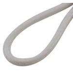 Гердан шнур памук Корея 2 мм 45 см бял